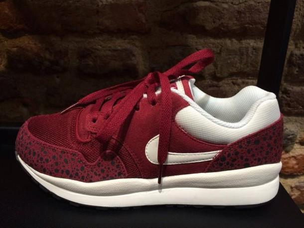shoes nike running shoes nike nike sportswear sportswear burgundy
