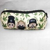 bag,cannabis print,accessory bag,thug life,4twentyfashion