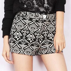 Geometric Print Casual Summer Short Pants Trousers Shorts [grxjy561153] on Luulla