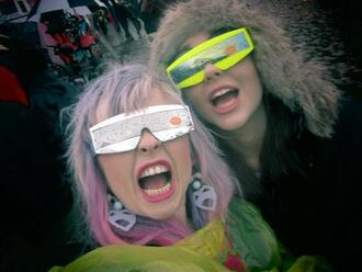sunglasses space slimepunk alien android seapunk melonlady melon lady helen anderson