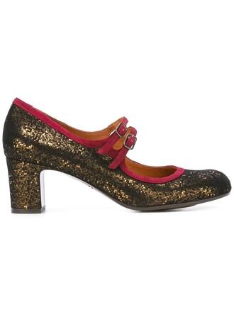 women pumps leather suede black velvet shoes