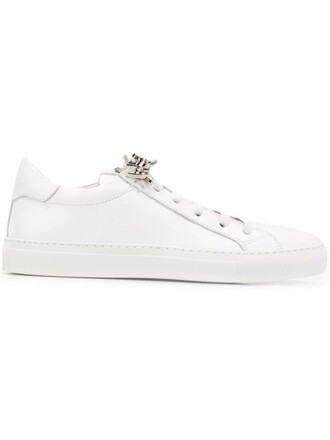 women sneakers leather white shoes