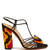 Samba raffia-embellished suede sandals