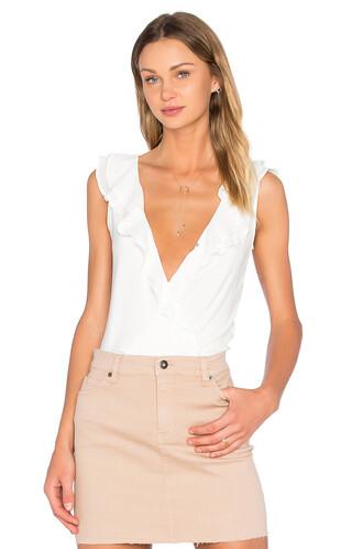 bodysuit white