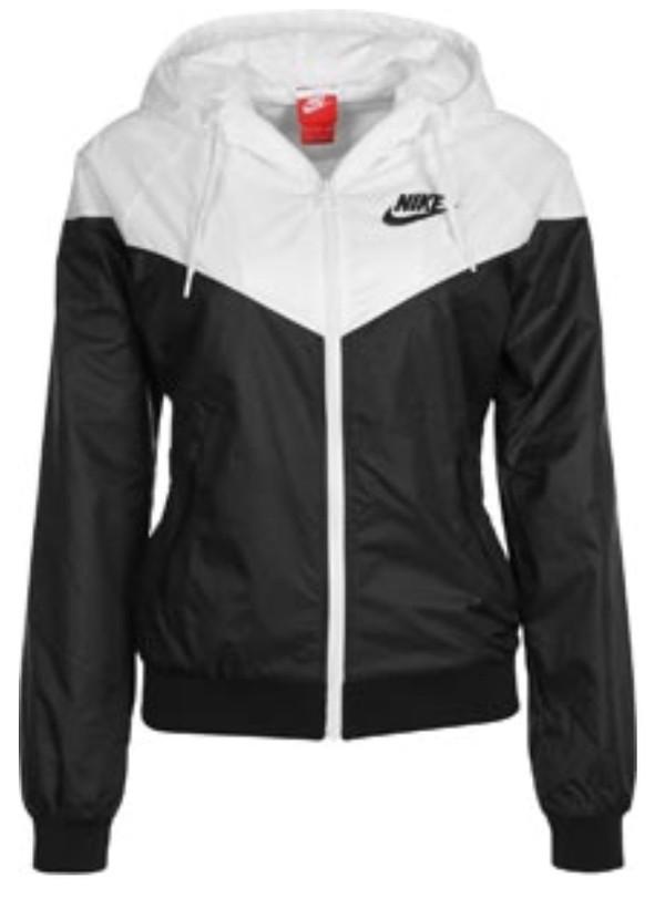 Jacket Black And White Coat Nike Jacket Raincoat Nike