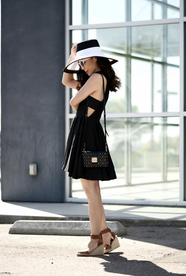 hallie daily dress hat bag shoes sunglasses
