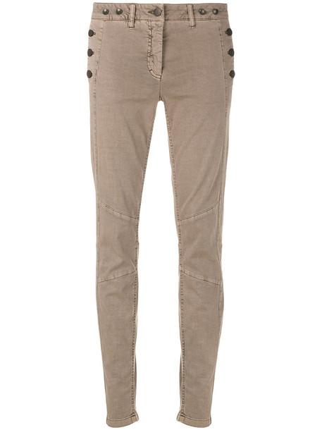 jeans skinny jeans women spandex cotton brown