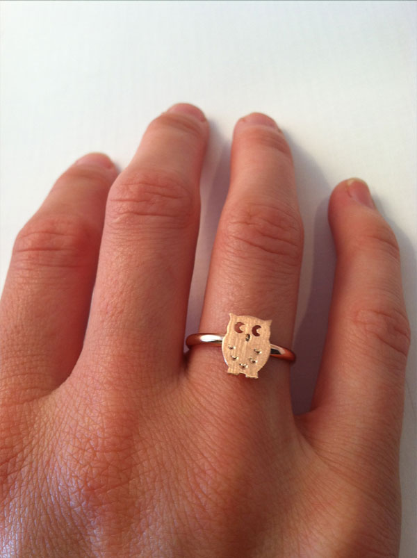 Owl Ring | West Of Camden