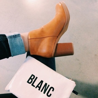 shoes tan leather booties boots tan booties tan leather booties tan boots leather booties wedge heel booties