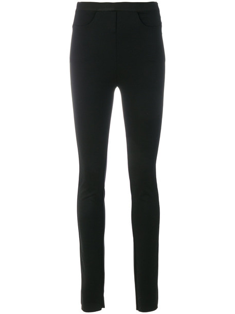 Ilaria Nistri women spandex black pants