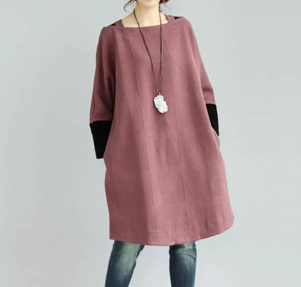 dress oversize dress