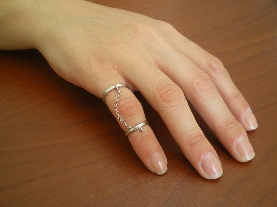 Little finger  knuckle ring sterling silver knuckle door GerasimoS