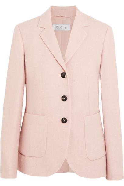 Max Mara blazer pastel pink pastel pink jacket