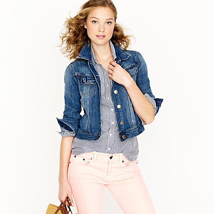 Nolita jacket in Great Lakes wash - Outerwear - Women's blazers & outerwear - J.Crew