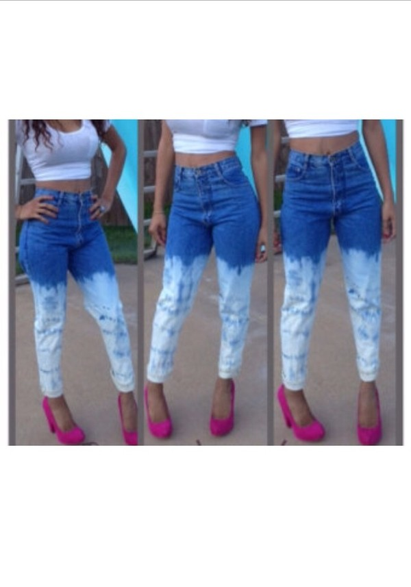 jeans high waisted jeans bleached levi's jeans