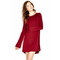 Harvest crew neck mini dress by michael lauren