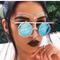 Fashion metal frame steampunk sunglasses