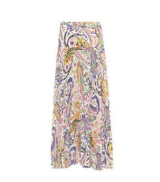 ETRO skirt printed skirt