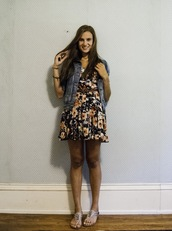 dress,wearaboutsblog,fashion blogger,floral,first day of school,back to school,lucca couture