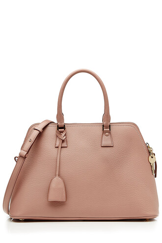 leather rose bag