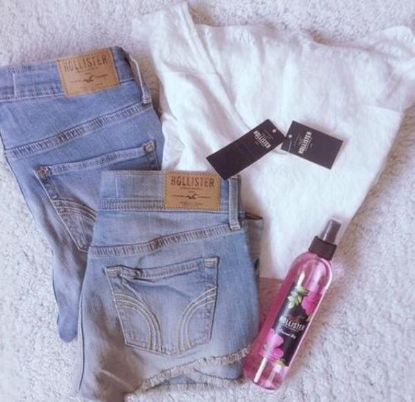 jeans hollister t-shirt