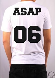 ASAP 06 T Shirt Top Mens Girl Festival Hipster Urban Fashion A$AP High Rocky Mob