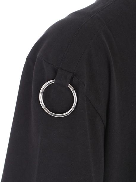 Helmut Lang t-shirt shirt t-shirt short black top