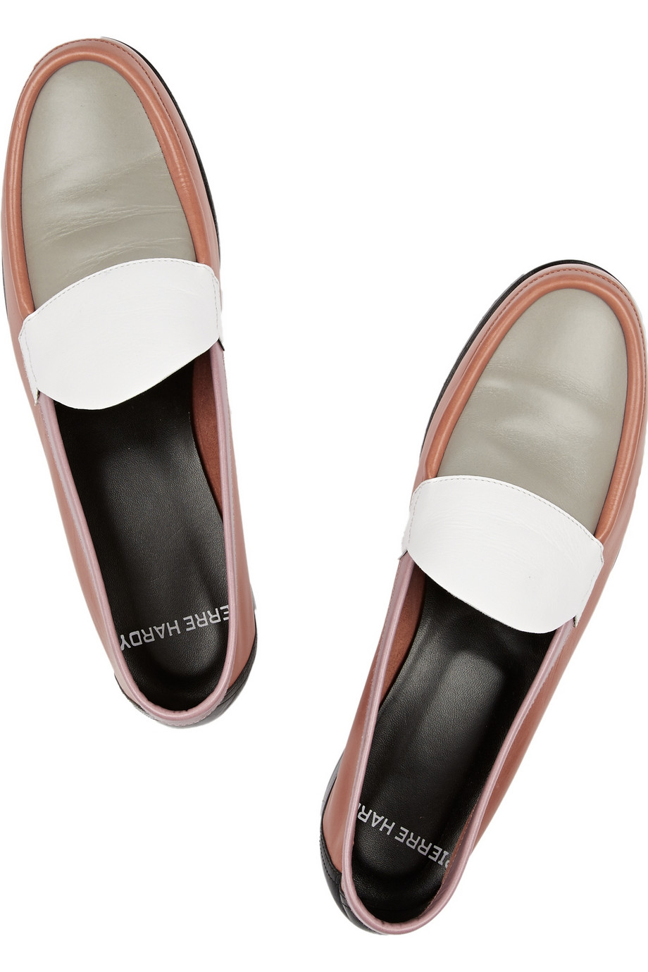 Block leather loafers – 56% at the outnet.com