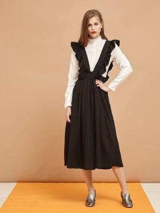skirt dress midi dress black dress