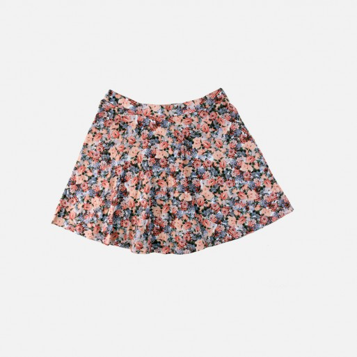 Sans Souci Floral Skater Skirt
