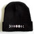 Moon Phases Beanie - Black Beanie - Lunar Phases - Phases of the Moon