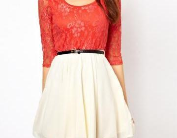 LACE CHIFFON DRESS FOR GIRLS on Luulla