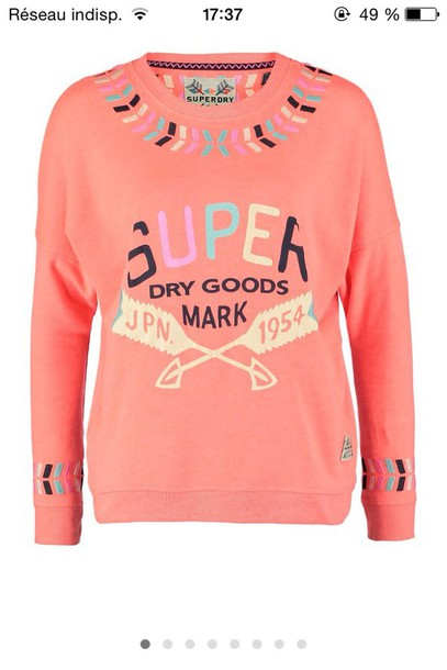 sweater superdry american classic top