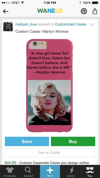 phone cover marilyn monroe iphone