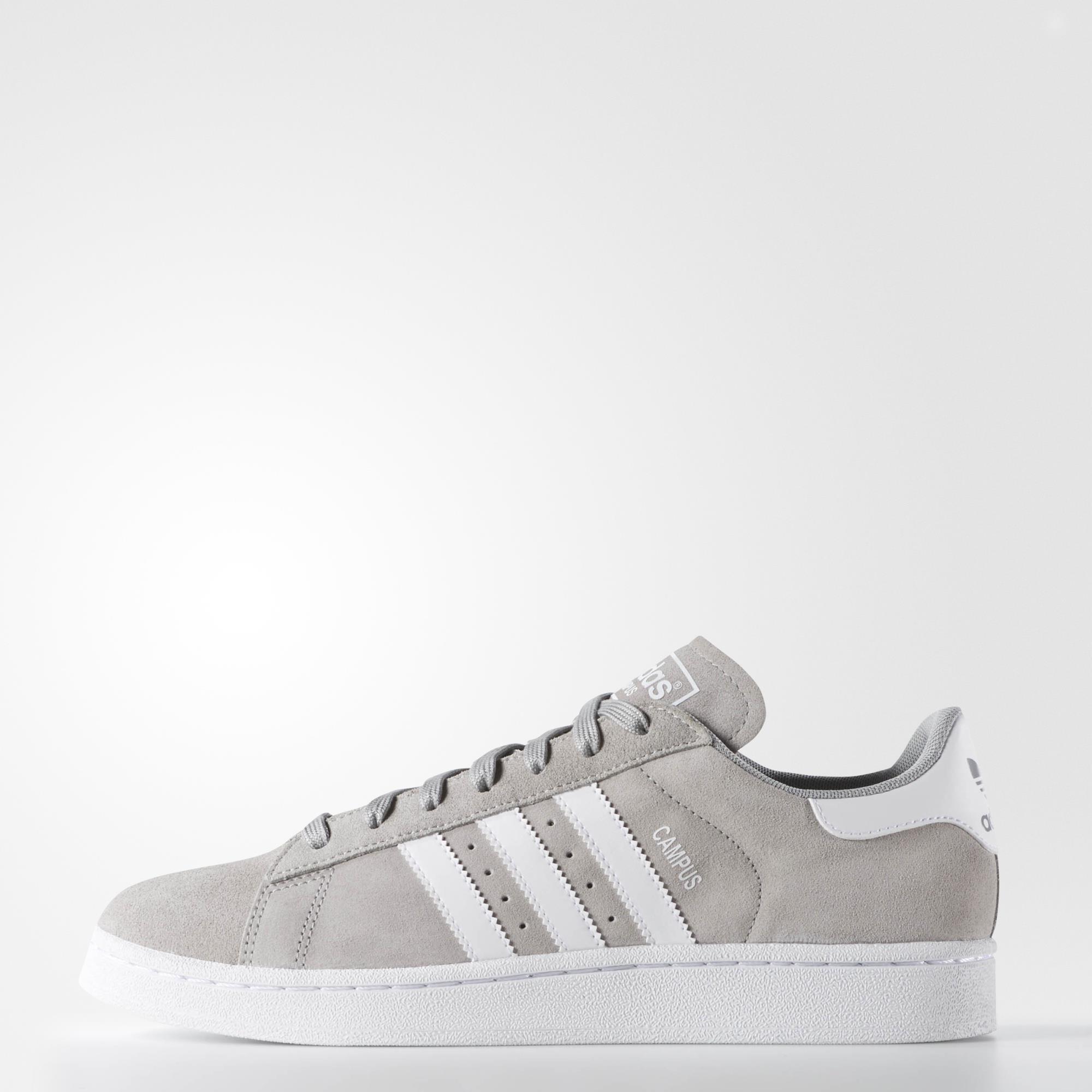 adidas campus sneakers grey