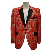 jacket,vintage,paisley,tux
