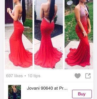 dress red prom dress prom dress red dress long prom dress jovani