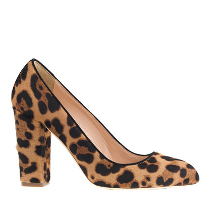 Collection stella calf hair pumps