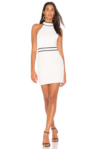 Endless Rose dress halter dress white