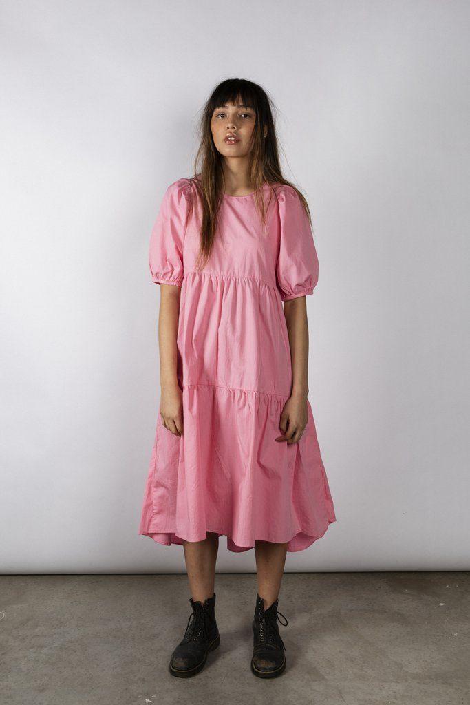 DARLA DRESS - LOLLY PINK