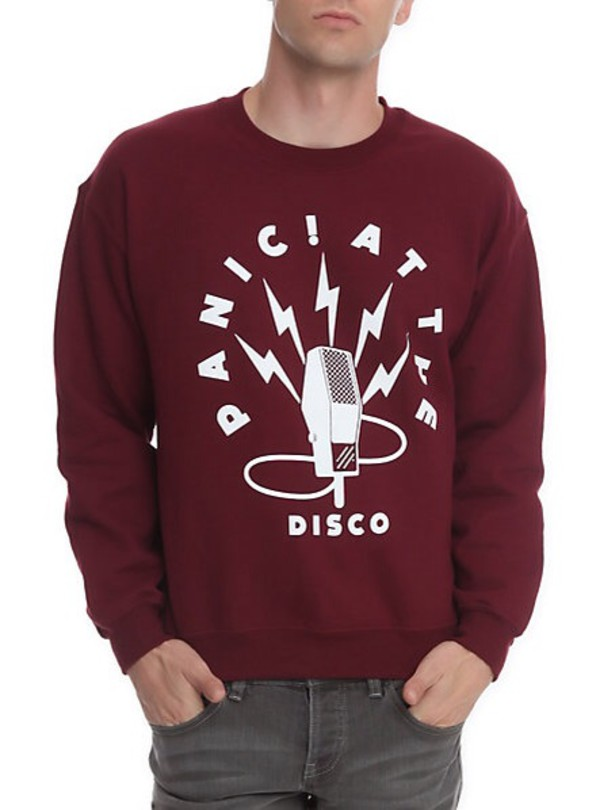 panicatthedisco sweatshirt band panic! at the disco sweater