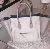 bag,celine handbag,white handbag