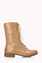Everyday Combat Boots | FOREVER21 - 2062074077