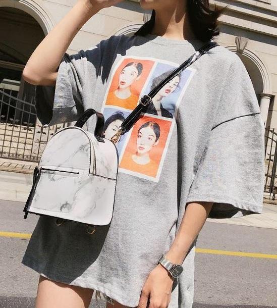 bag girly girl girly wishlist mini mini bag backpack marble
