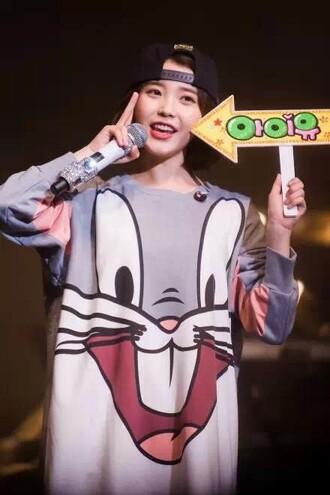 pullover bugs bunny bugs bunny pullover bugs bunny sweater asian fashion kfashion korean fashion iu kpop k-pop cfashion chinese fashion japanese fashion tokyo fashion kawaii harajuku