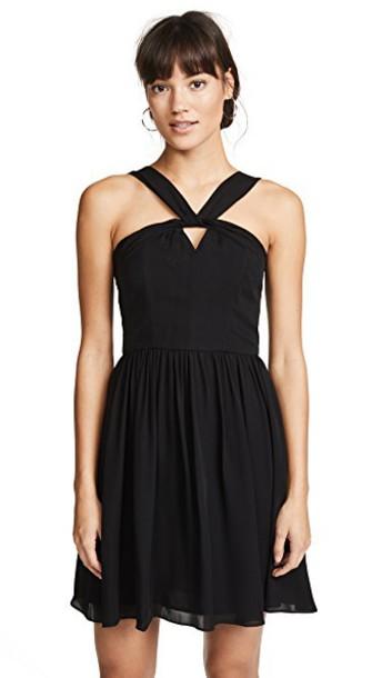 dress keyhole dress black