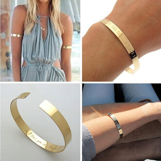 jewels gold bracelet gold cuff fashion jewelry fashion jewelry engraved cuff bracelets personalized jewelry personalized bracelets personalized cuff summer minimalist jewelry gold bar hammered earrings - minimalist jewelry - dangle gold filled earrings
