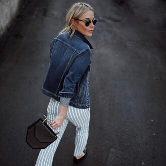happily grey blogger tank top bag pants jacket