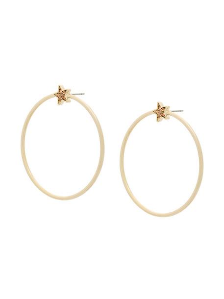 FEDERICA TOSI women earrings hoop earrings grey metallic jewels