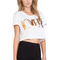 Lovers   friends lovers icon crop top in white from revolveclothing.com